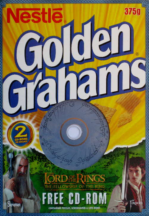 2001 Golden Grahams Lord of the Rings CD Rom front (2)