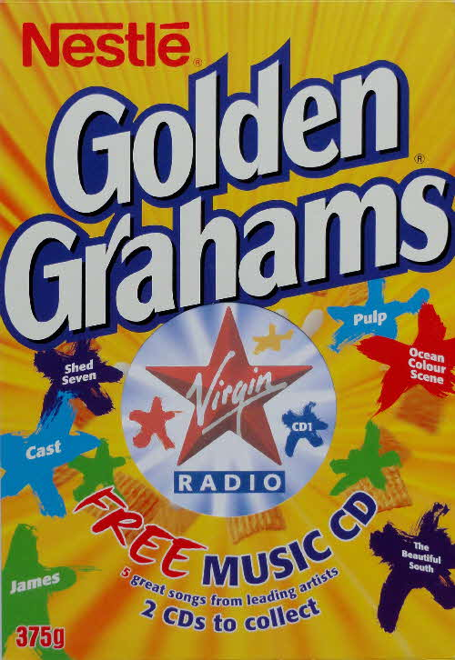 2000 Golden Grahams Virgin Radio CD front (1)