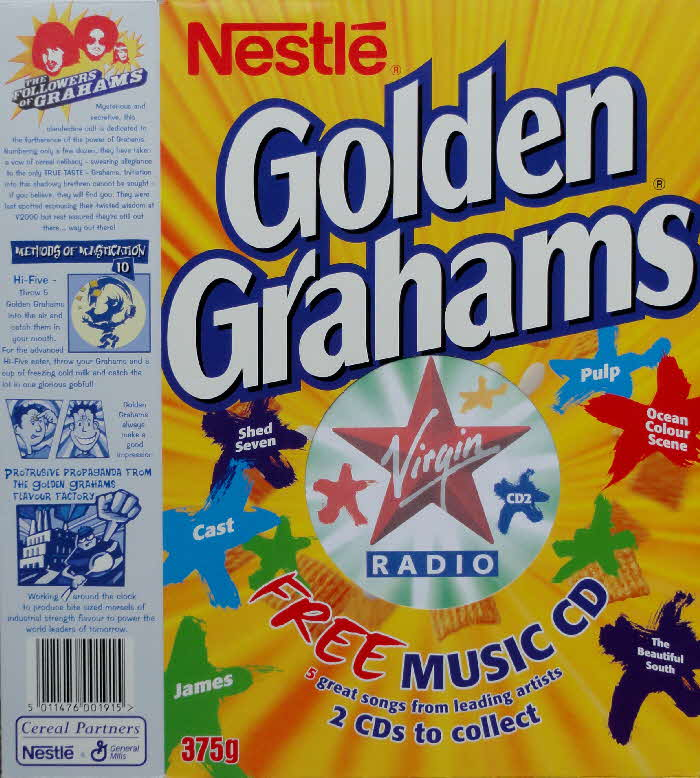 2000 Golden Grahams Virgin Radio CD front (2)