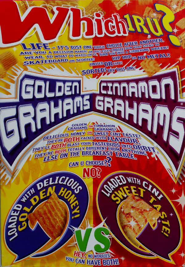 2002 Golden Grahams Which 1 RU