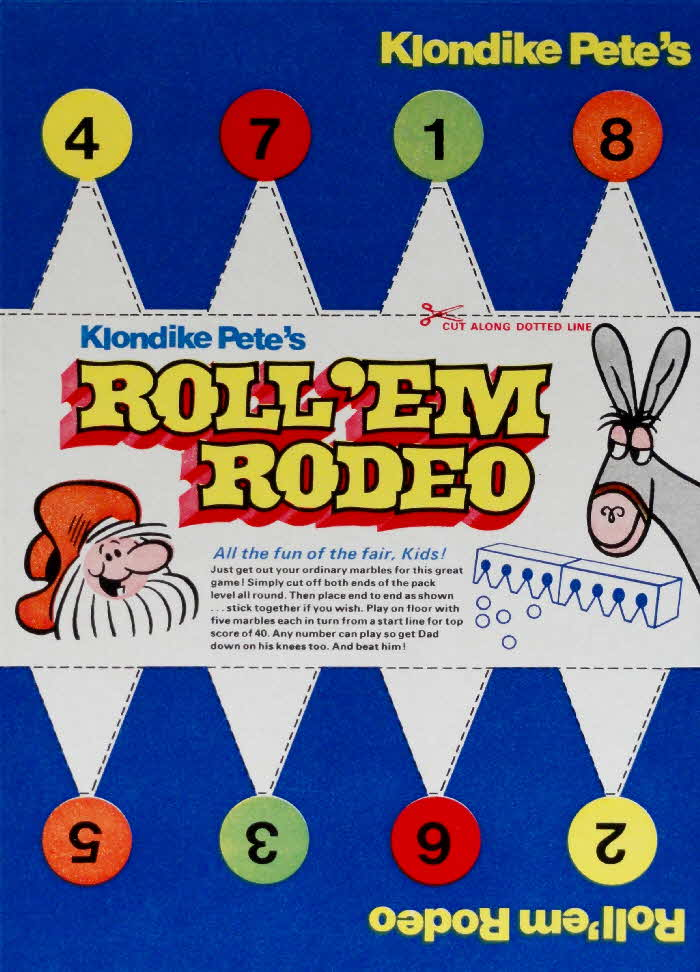 1976 Golden Nuggets Roll'em Rodeo
