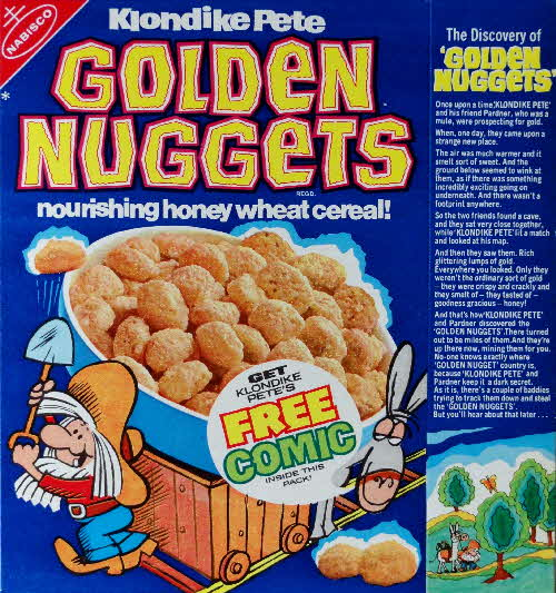 1971 Golden Nuggets  Discovery of Golden Nuggets