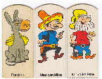 1972 Golden Nuggets Finger Puppets