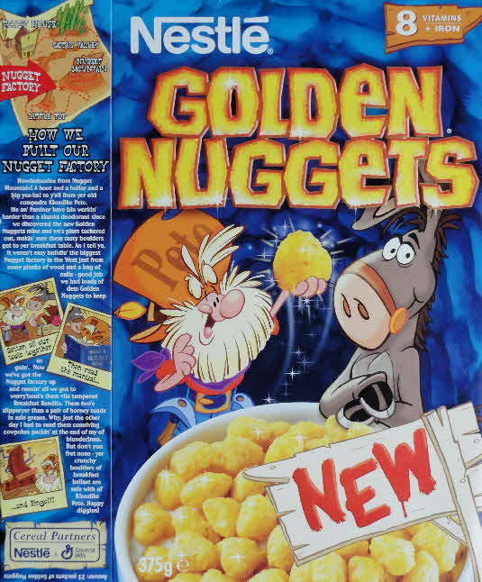 1999 Golden Nuggets How Nugget Factory Built