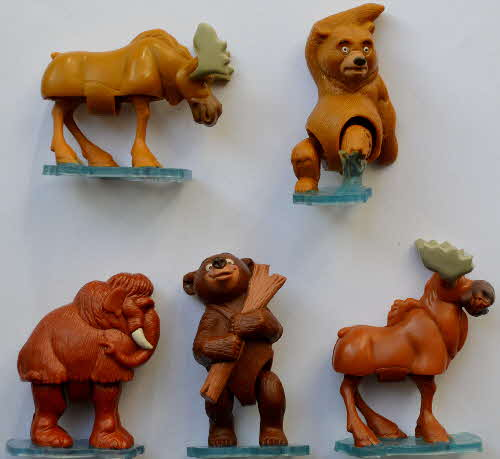 2003 Golden Nuggets Brother Bear Wobbling Wildlife1