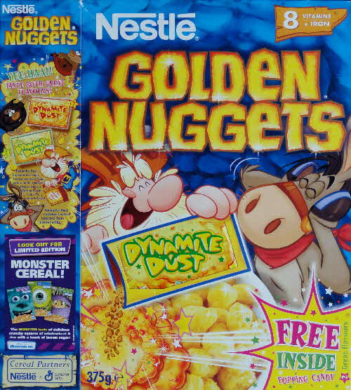 2002 Golden Nuggets Dynamite Dust front Banana