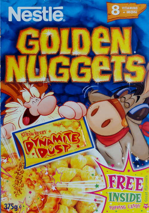 2002 Golden Nuggets Dynamite Dust front Strawberry