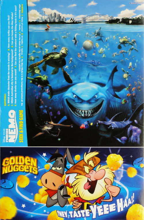 2003 Golden Nuggets Finding Nemo Seek & Find Game