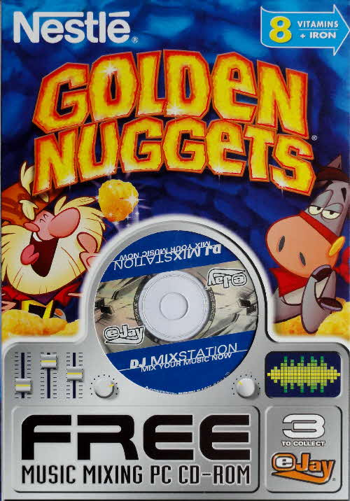 2003 Golden Nuggets Music Mixing PC Rom front 1