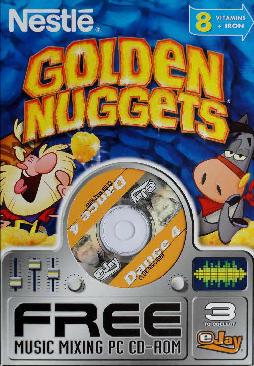 2003 Golden Nuggets Music Mixing PC Rom front 2