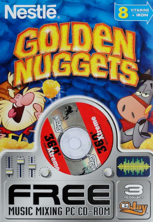 2003 Golden Nuggets Music Mixing PC Rom front 3