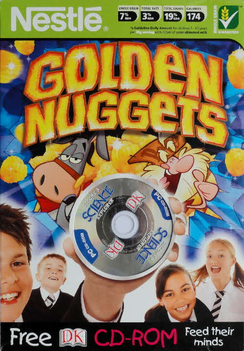 2005 Golden Nuggets DK CD Rom front 1