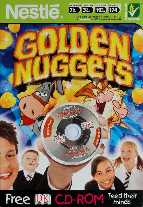 2005 Golden Nuggets DK CD Rom front 2