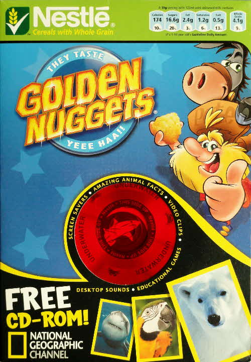 2006 Golden Nuggets National Geographical CD Rom front 1