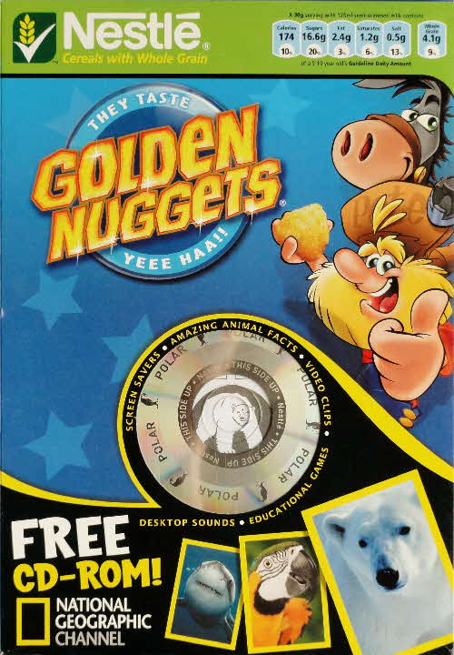 2006 Golden Nuggets National Geographical CD Rom front 2