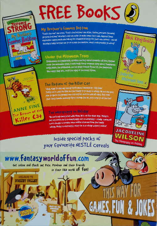 2007 Golden Nuggets Puffin Books