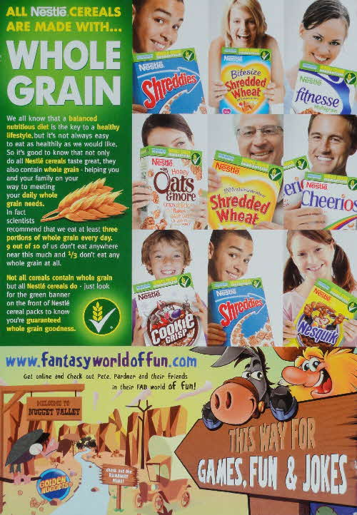 2007 Golden Nuggets Whole Grain and Fantasy World