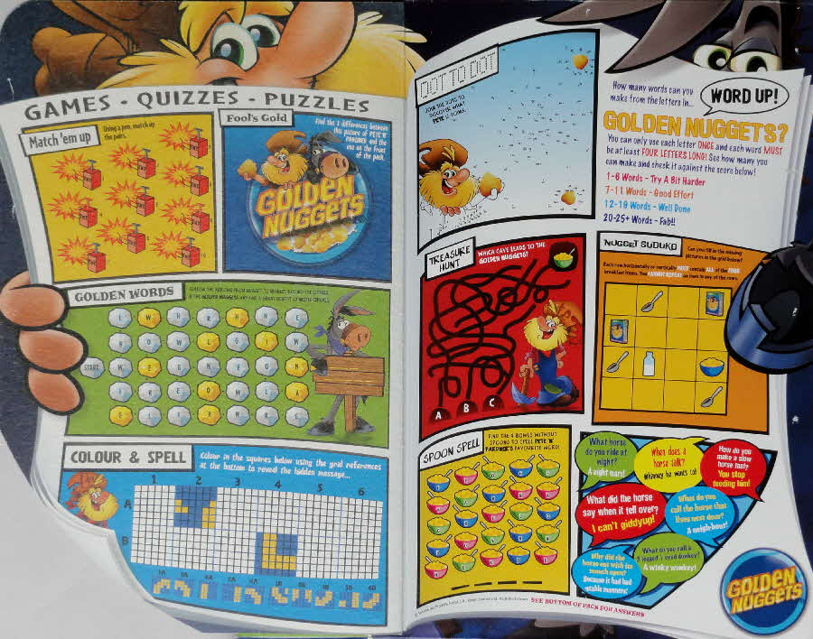 2006 Golden Nuggets Games Quizzes & Puzzles inside