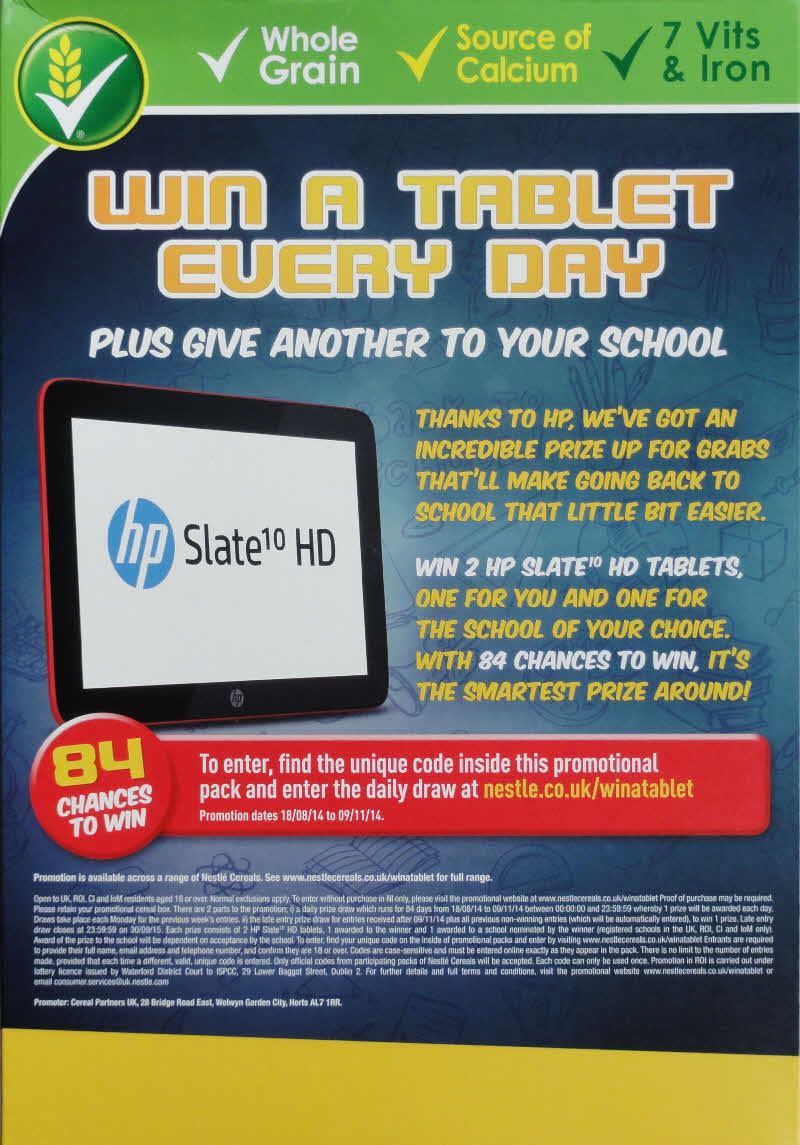 2014 Golden Nuggets Win an ipad Every Day1