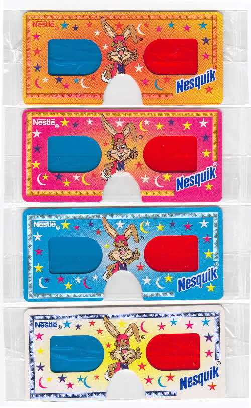 1997 Nesquick 3D Glasses