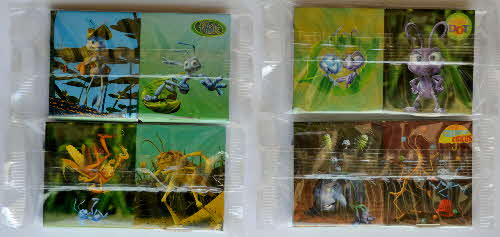 1998 Nesquick Bugs Life Bugs Box Magnifyer - mint