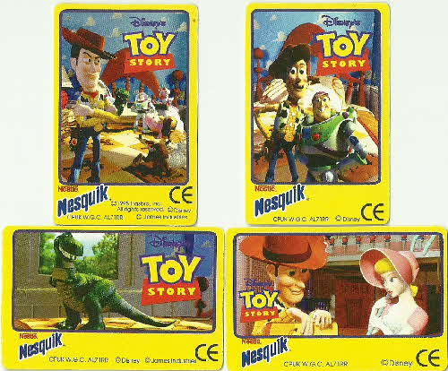 1993 Nesquick Toy Story 3D Holograms (2)