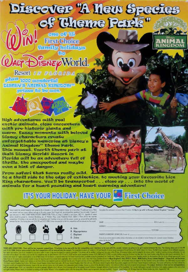 1998 Nesquick Disney World Competition