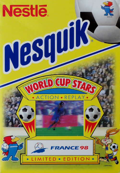 1998 Nesquick World Cup Stars Action Replay cards front (1)