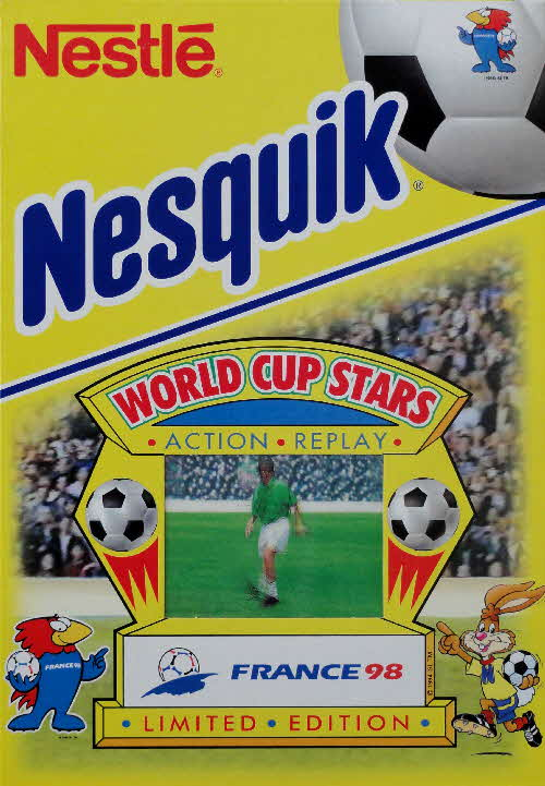 1998 Nesquick World Cup Stars Action Replay cards front (2)