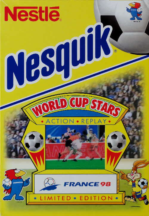 1998 Nesquick World Cup Stars Action Replay cards front (4)