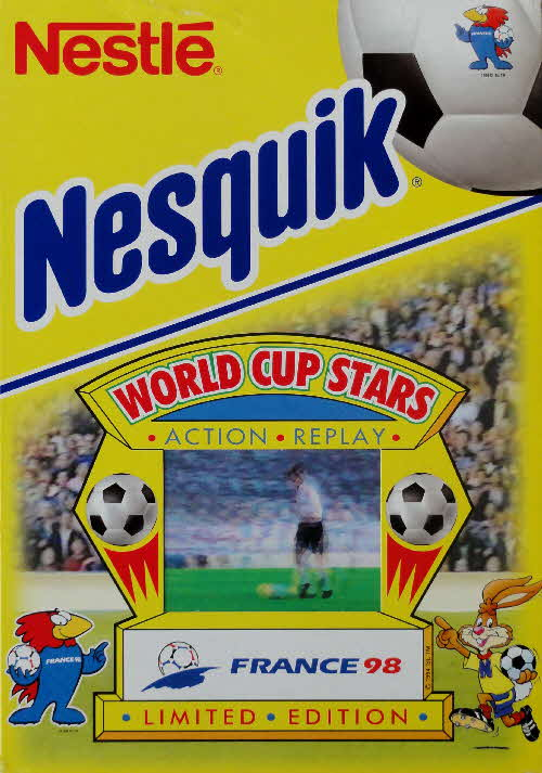 1998 Nesquick World Cup Stars Action Replay cards front (5)