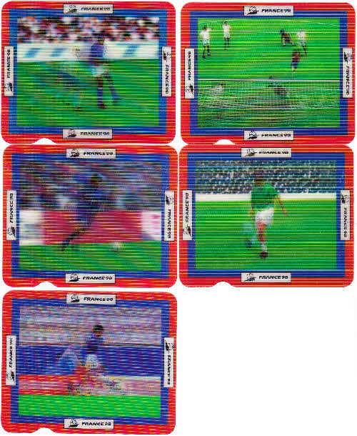1998 Shreddies France 98 Action cards  1 (1)