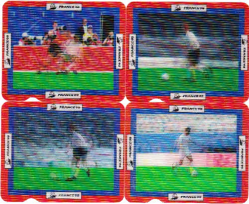 1998 Shreddies France 98 Action cards  2 (1)