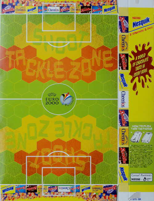 2000 Euro 2000 Table Top Football - Limited Edition Shapes (1)