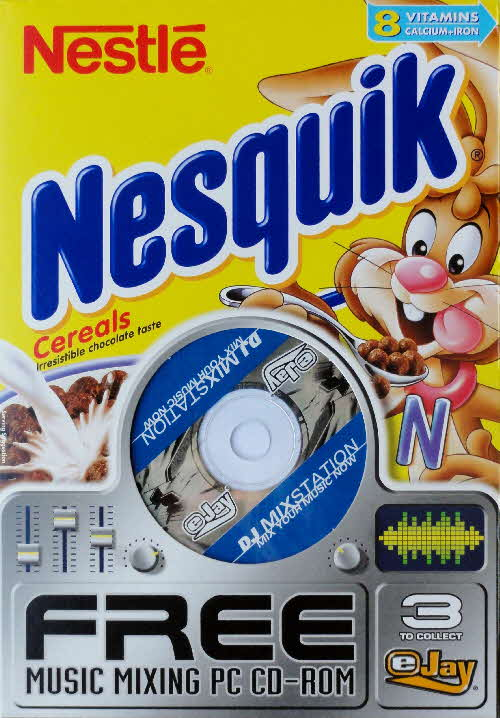 2003 Nesquik Music Mixing PC Rom front