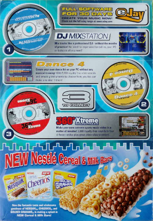 2003 Nesquik Music Mixing PC Rom
