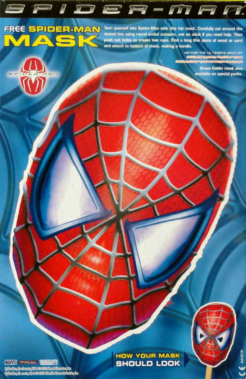2002 Nesquik Spiderman Mask