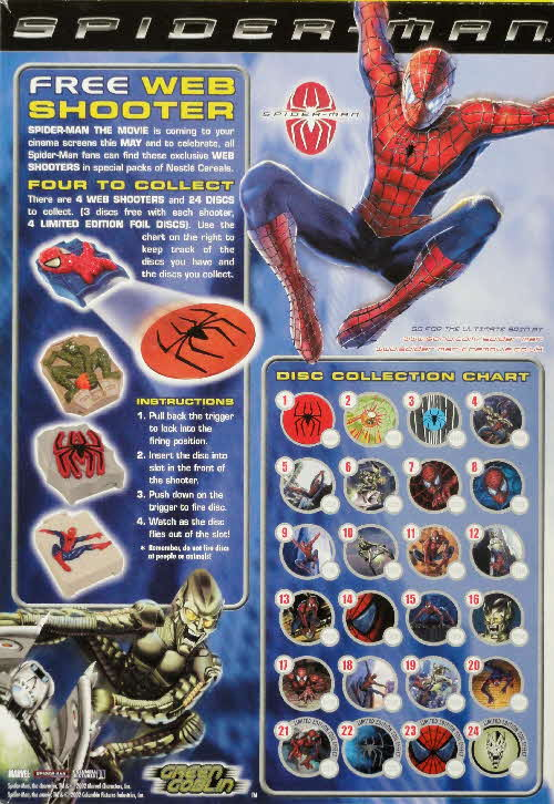 2002 Nesquik Spiderman Shooter
