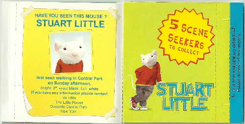2000 Shreddies Stuart Little Scene Seekers (2)