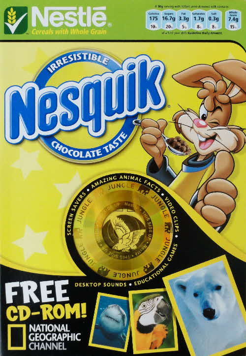 2006 Nesquik National Geographical CD Rom front (2)