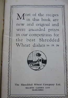 1926 Shredded Wheat Dainty Dishes 2