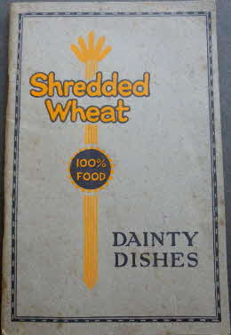 1926 Shredded Wheat Dainty Dishes