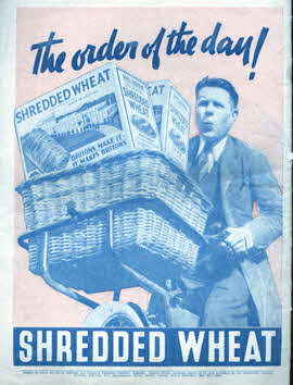1935 Shredded Wheat Music Sheets for George v Silver Jubilee