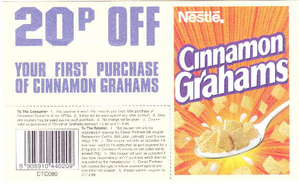1998 Cinamon Graham Postcard (2)
