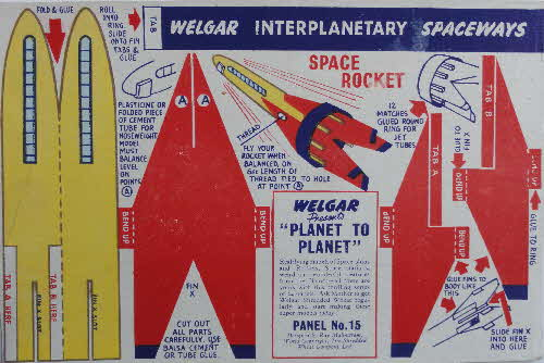 1954 Shredded Wheat Planet to Planet No 15