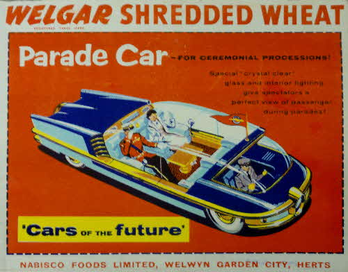 1957 Shredded Wheat Cars of the Future Parade Car1