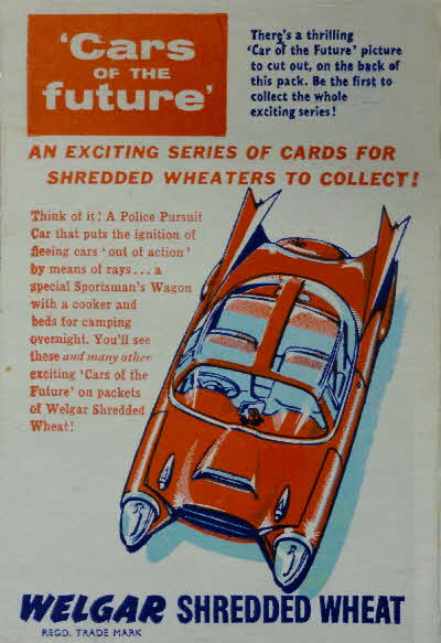 1957 Shredded Wheat Cars of the Future side panel