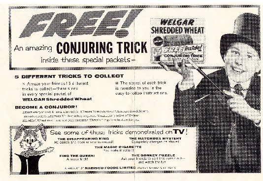 1959 Shredded Wheat Conjuring Trick (2)