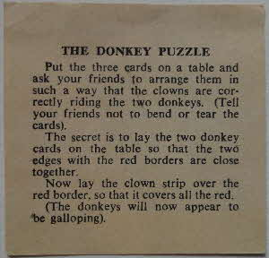 1959 Shredded Wheat Conjuring Trick Donkey (2)