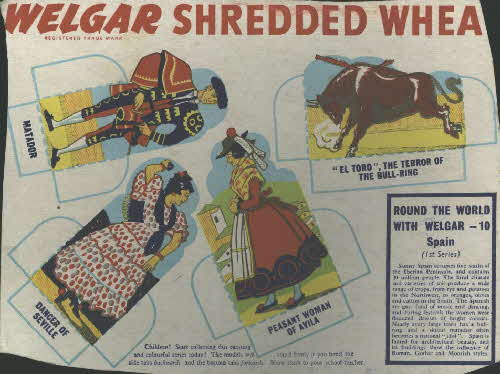1950s Shredded Wheat round the World with Welgar No 10